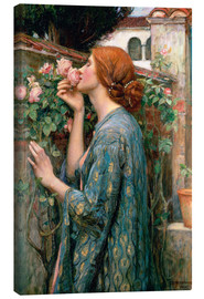 Canvas  The Soul of the Rose - John William Waterhouse