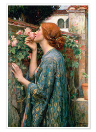 Poster  The Soul of the Rose - John William Waterhouse