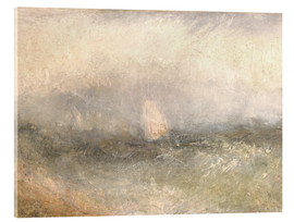 Acrylic print  Off the Nore: Wind and Water - Joseph Mallord William Turner