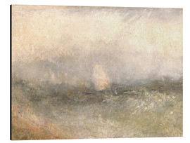 Aluminium print  Off the Nore: Wind and Water - Joseph Mallord William Turner
