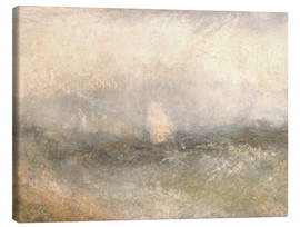 Canvas print  Off the Nore: Wind and Water - Joseph Mallord William Turner