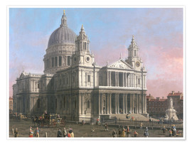 Premium poster  St. Paul's Cathedral - Antonio Canaletto