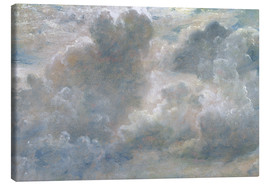 Canvas print  Study of cumulus clouds - John Constable