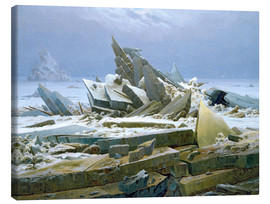 Canvas print  The Polar Sea - Caspar David Friedrich
