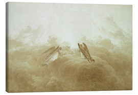 Canvas print  Angel in Prayer - Caspar David Friedrich