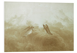 Foam board print  Angel in Prayer - Caspar David Friedrich