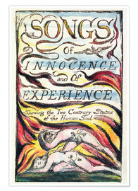 Premium poster  Songs of Innocence and of Experience - William Blake