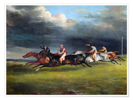 Premium poster The Epsom Derby