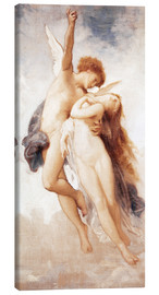 Canvas  Cupid and Psyche - William Adolphe Bouguereau
