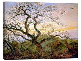 Canvas print  The Tree of Crows - Caspar David Friedrich