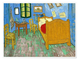 Premium poster  Van Gogh's Bedroom at Arles - Vincent van Gogh