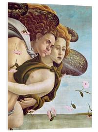 Foam board print  Zephyr and Chloris - Sandro Botticelli