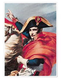 Premium poster  Napoleon Crossing the Alps - Jacques-Louis David