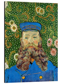 Aluminium print  Portrait of the Postman Joseph Roulin - Vincent van Gogh