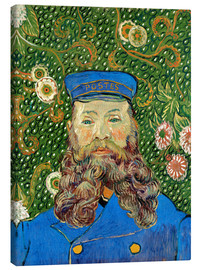 Canvas print  Portrait of the Postman Joseph Roulin - Vincent van Gogh