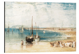 Aluminium print  Weymouth - Joseph Mallord William Turner