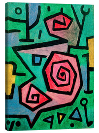 Canvas print  Heroic Roses - Paul Klee