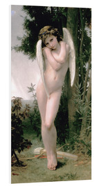 Foam board print  Cupid - William Adolphe Bouguereau