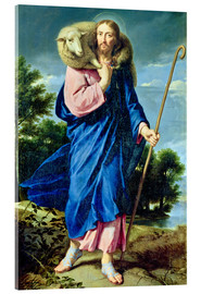Acrylic print  The Good Shepherd - Philippe de Champaigne
