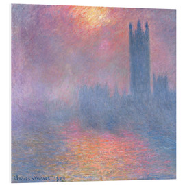 Forex  The Houses of Parliament - Claude Monet