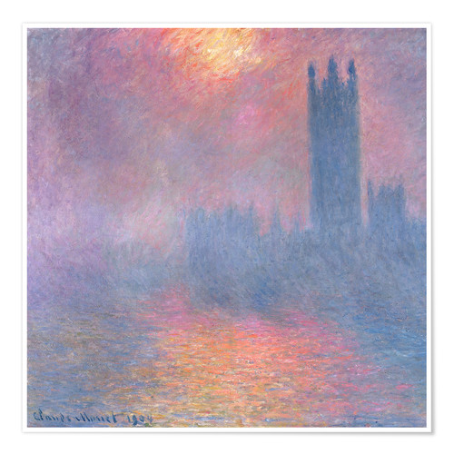 Premium poster The Houses of Parliament