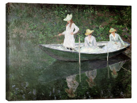 Canvas print  The Boat at Giverny - Claude Monet