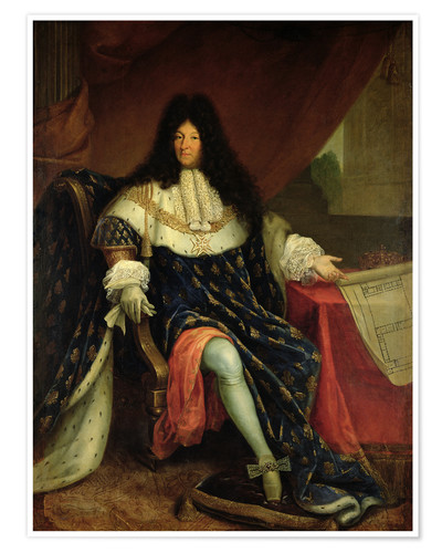 Louis Xiv Posters And Prints Posterlounge Com