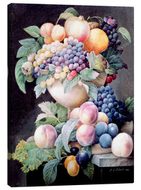 Canvas print  Fruits - Pierre Joseph Redouté