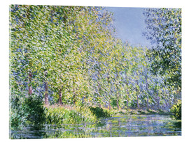 Acrylic print  Bend in the Epte River near Giverny - Claude Monet