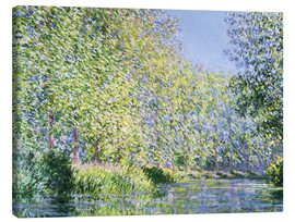 Canvas print  Bend in the Epte River near Giverny - Claude Monet