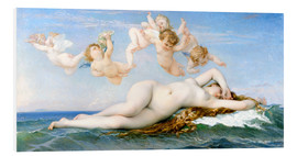 Foam board print  Birth of Venus - Alexandre Cabanel