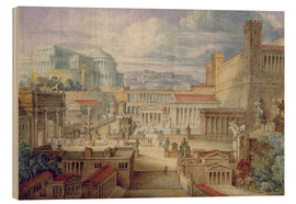 Wood  A Scene in Ancient Rome - Joseph Michael Gandy
