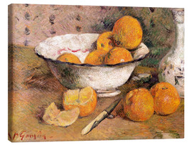 Canvas print  Still life with Oranges - Paul Gauguin