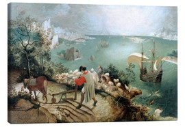 Canvas print  Landscape with the fall of Icarus - Pieter Brueghel d.Ä.