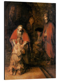 Alu-Dibond  Return of the Prodigal Son - Rembrandt van Rijn