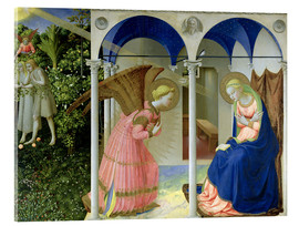 Acrylic glass  The Annunciation - Fra Angelico