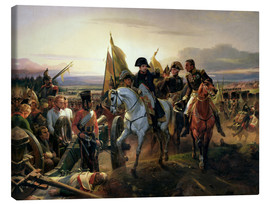 Canvas  The Battle of Friedland - Emile Jean Horace Vernet