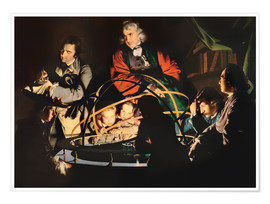 Premium poster  The Orrery - Joseph Wright of Derby