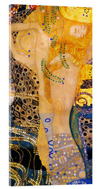 Acrylic print  Water serpents I - Gustav Klimt