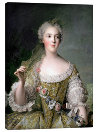 Canvas print  Sophie from France - Jean-Marc Nattier