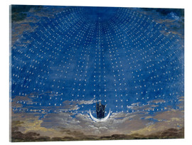 Acrylic glass  The Palace of the Queen of the Night - Karl Friedrich Schinkel
