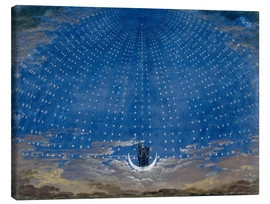 Canvas print  The Palace of the Queen of the Night - Karl Friedrich Schinkel