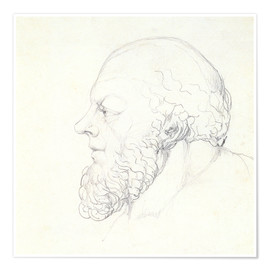 Premium poster  Socrates - William Blake