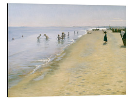 Aluminium print  Summer day at the south beach of Skagen - Peder Severin Krøyer