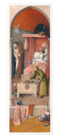 Premium poster  Death and the Miser - Hieronymus Bosch