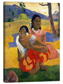 Canvas print  When Will You Marry? - Paul Gauguin