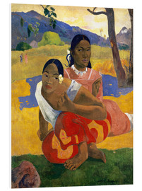 Foam board print  When Will You Marry? - Paul Gauguin