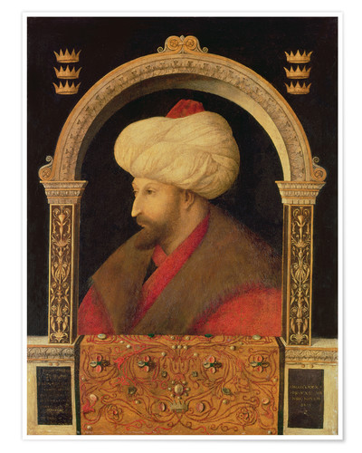 Premium poster The Sultan Mehmet II