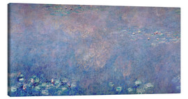 Canvas print  Waterlilies: Two Weeping Willows (detail) - Claude Monet