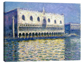 Canvas  The Ducal Palace - Claude Monet